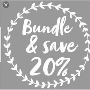 Other - Bundle 2 or more items and save 20%